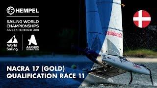 Download Full Nacra 17 Gold Fleet Qualification Race 11 | Aarhus 2018 Video