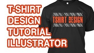 Download How to Design a T-shirt in Illustrator Video