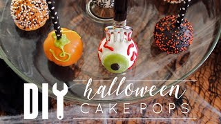 Download How to Make Halloween Cake Pops! Video