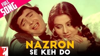 Download Nazron Se Keh Do Full Song | Doosara Aadmi | Rishi Kapoor | Neetu Singh Video