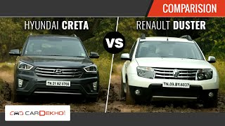 Download Hyundai Creta vs Renault Duster | The Perfect SUV Face-off | Comparison Video