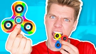 Download DIY Candy Fidget Spinners YOU CAN EAT!!!!!!! Rare Edible Fidget Spinner Toys & Tricks Video