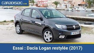 Download Essai - Dacia Logan restylée 2017 : cure de modernisme Video