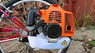 Download Установка двигателя на велосипед | Сборка мотовелосипеда MOTAX Lampa Video