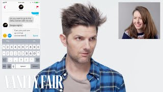 Download Adam Scott Hijacks a Stranger's Tinder | Vanity Fair Video