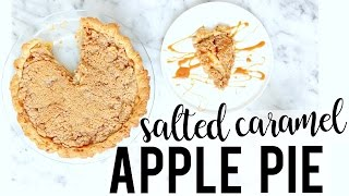 Download SALTED CARAMEL APPLE PIE | Baking with Meghan Video