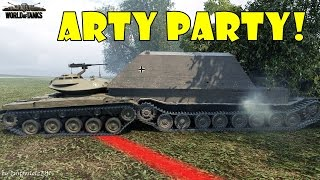 Download World of Tanks - Funny Moments | ARTY PARTY! #16 Video