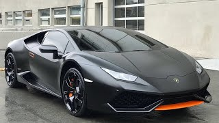 Download 2018 Lamborghini Huracan Mat Satin Siyah Kaplama - GMG GARAGE Video