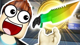 Download *YOU WON'T BELIEVE IT* EPIC LOOT CRATE KNIFE OPENING - ROBLOX MURDER MYSTERY Video