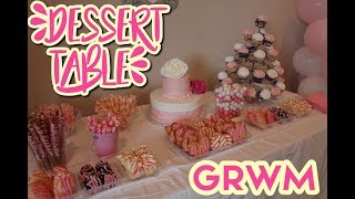 Download GRWM: Pink and White Dessert Table // AnalynnMarie Video