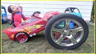 Download Lightning McQueen Power Wheel Racing Adventure Video