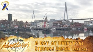 Download Attractions Adventures - 'A Day at Universal Studios Japan: Part One' - March 24, 2017 Video
