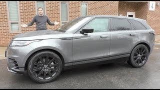 Download The $85,000 Range Rover Velar Is the Coolest Range Rover Ever Video