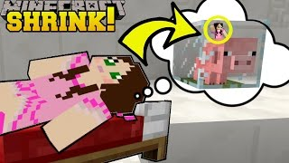Download Minecraft: SHRINKING INSIDE A BABY PIG!!! - Asleep 2 - Custom Map [1] Video