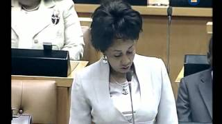 Download Lindiwe Sisulu says never on a Sunday Video