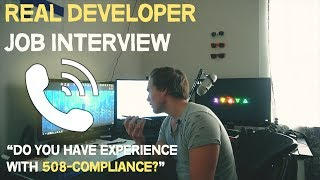 Download What a REAL web developer interview is like (Front End) Video
