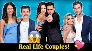 Download Real Life Couples of Avengers: Infinity War 💖💖 Video