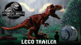 Download Jurassic World Fallen Kingdom Trailer in LEGO Video