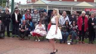 Download Vintage Fashion Parade @ Camperdown Cruise Rockabilly Weekend Video