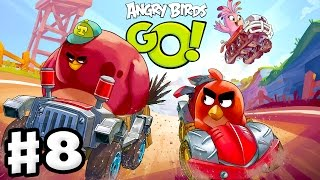 Download Angry Birds Go! 2.0! Gameplay Walkthrough Part 8 - Chuck Race! 3 Stars! (iOS, Android) Video