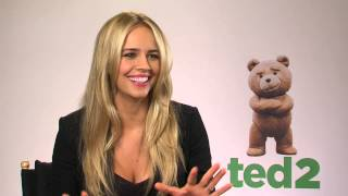 Download Why Jessica Barth did not dare to prank Mark Wahlberg - Ted 2 Video