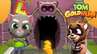 Download Talking Tom Gold Run Android Gameplay - Talking Tom Catch the Raccoon Ep 1 Video