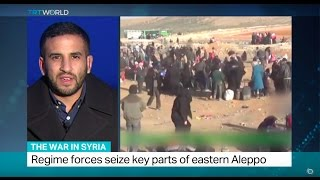 Download The War In Syria: Up to 20.000 people flee eastern Aleppo in 72 hours Video