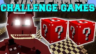 Download Minecraft: NIGHTMARE FREDDY CHALLENGE GAMES - Lucky Block Mod - Modded Mini-Game Video
