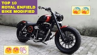 Download Top 10: BEST Modified Royal Enfield Bikes ! ! ! Video