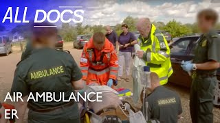Download Air Ambulance ER: Helping a Golfer in Cardiac Arrest | Medical Documentary | Documental Video