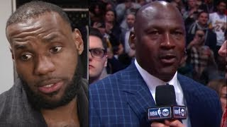Download BREAKING! Michael Jordan CALLS OUT Lebron James! ″You Wear MY Number!″ Lebron RESPONDS! Video