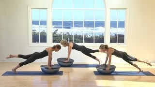 Download Erika Quest Pilates BOSU Ball Workout Video