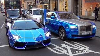 Download The Great Arab Supercar Invasion in London, Summer 2015 Video