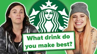 Download Starbucks Employees Answer Your Questions Video