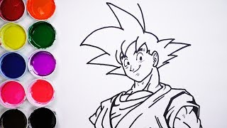 Download Dibuja y Colorea a Goku - Dibujos Para Niños - Learn Draw / FunKeep Video