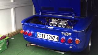 Download NSU TT engine start with fire Video