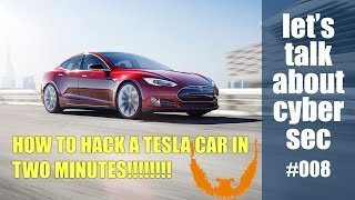 Download HOW TO HACK A TESLA CAR IN TWO MINUTES!!! | Let's talk about cyber sec #008 Video