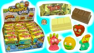 Download Full Box 30 Series 2 Yuck Candy Bar Surprise Blind Bags with Color Changing Grossery Gang Video