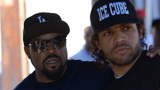 Download Ice Cube and Son on 'Straight Outta Compton' Video