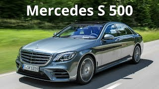 Download 2018 Mercedes S 500 - Sporty Design Combined with Performance and Efficiency Video