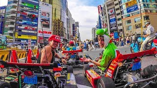 Download MARIO KART IN REAL LIFE! (Streets of Tokyo!) Video