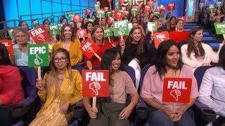 Download Ellen's Audience Plays 'Epic or Fail' Video