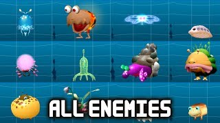 Download Hey! Pikmin - All Enemies (Full Creature Log) (English Gameplay) Video