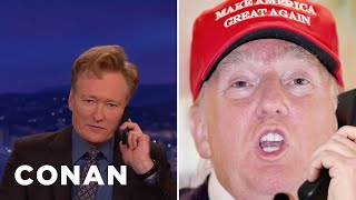 Download Donald Trump Calls Conan - CONAN on TBS Video