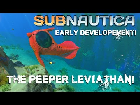 The PEEPER LEVIATHAN! - Top 10 Fish in Subnautica