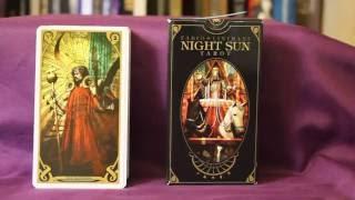 Download Night Sun Tarot Full Flip Through Video