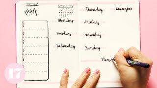 Download Bullet Journal Weekly Spread Ideas | Plan With Me Video