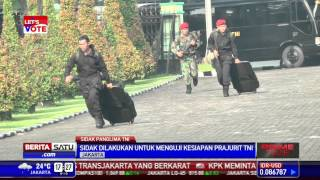 Download Panglima TNI Sidak Kesatuan Elite TNI Video