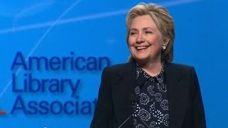Download Hillary Clinton full ALA Conference speech Video