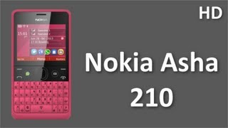 Download Nokia Asha 210 Mobile Price and Specifications with WhatsApp, Youtube, Facebook Video